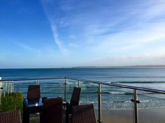 view form Pedn Olva hotel St Ives December 2015 St Ives Cornwall, Saints, The Past, December, Beach, Places, The Beach, Beaches, Lugares