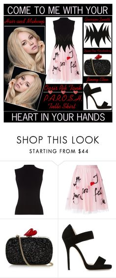 """Come To Me With Your Heart In Your Hands"" by latoyacl ❤ liked on Polyvore featuring Oasis, P.A.R.O.S.H., Diane Von Furstenberg, Jimmy Choo, Giuseppe Zanotti, women's clothing, women's fashion, women, female and woman"