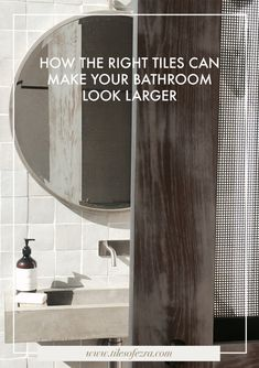 Lear how the right tiles can make your bathroom look larger with Melbourne-based industry expert Georgia Ezra, owner of Tiles of Ezra and interior design firm Studio Ezra.