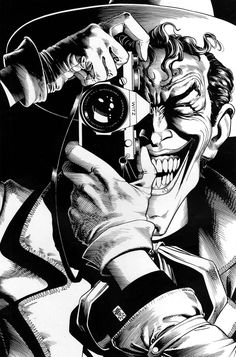 Batman: The Killing Joke cover by Brian Bolland