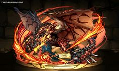 Rathalos stats, skills, evolution, location | Puzzle & Dragons Database