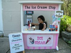 Ice Cream Stand | American Girl Playthings!