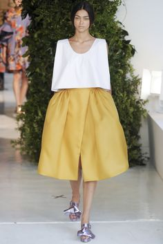 Sfilata Delpozo New York -  Collezioni Primavera Estate 2014 - #Vogue #nyfw #ss2014 #Delpozo