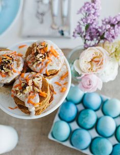 Between dying eggs, eating festive treats and celebrating with egg hunts, one of the traditions we have every year is celebrating the holiday with a big Easter brunch.