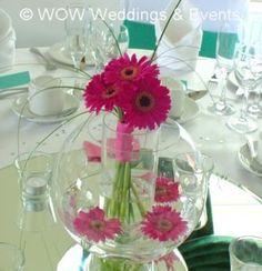 easy fishbowl wedding