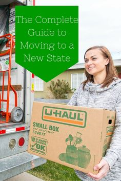 Complete Guide to Moving to a New State There are a lot of details to consider when moving and when moving to a new state there are even more things to consider. Don't fret! Use this guide to make sure you plan and execute your move efficiently.