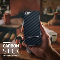 Verus Carbon Stick iPhone 6/6S Case - Royal Navy - Buymon