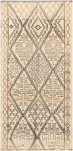 Vintage Beni Ourain Moroccan Rug 47106 Main Image - By Nazmiyal   http://nazmiyalantiquerugs.com/antique-rugs/moroccan-style/vintage-moroccan-rug-47106/