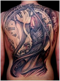 100 Most Unusual Grim Reaper Tattoo Designs nice  Check more at http://fabulousdesign.net/grim-reaper-tattoos/