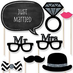 Wedding - Photo Booth Props Kit - 20 Count Big Dot of Happiness http://www.amazon.com/dp/B00QMVE9R6/ref=cm_sw_r_pi_dp_6dsovb0HBNNMD