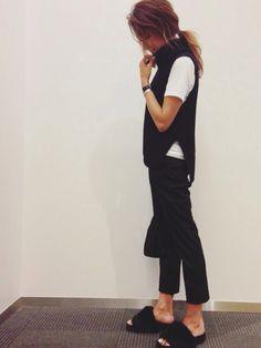 UNIQLOのニット・セーターを使ったkayoのコーディネートです。WEARはモデル・俳優・ショップスタッフなどの着こなしをチェックできるファッションコーディネートサイトです。