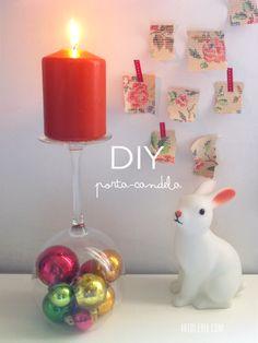 DIY candele di Natale