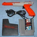 Super Mario Bros./ Duck Hunt (with Zapper Light Gun) - Super Mario Bros./ Duck Hunt (with Zapper Light Gun)      The Zapper Light Gun will only work with CRT (Tube-style) TVs and is not compatible with LCD, plasma, or LED flatscreens.  Super Mario Br
