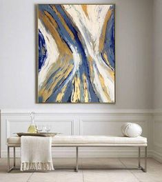 Painting Abstract Techniques Etsy 34 Ideas For 2019 Abstract Canvas, Canvas Wall Art, Painting Abstract, Gold Leaf Art, Contemporary Abstract Art, Painting Inspiration, Diy Art, Art Gallery, Artwork