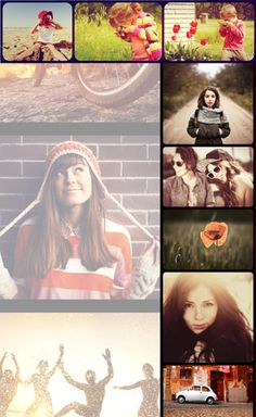 DIY Fotor photo editor Photo stitching example. A free online app. Make a photo collage. #diy #photography