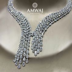 Amwaj_Jewellery.. Freeze that moment in internal diamond beauty.