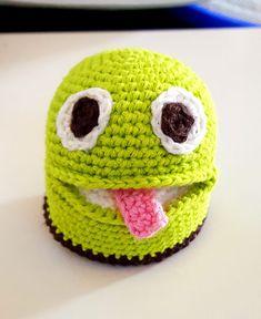 Det kreative hjørne – Side 4 – – Et univers af inspiration Knitting For Kids, Crochet For Kids, Crochet Baby, Knit Crochet, Kids Play Food, Crochet Food, Crochet Animals, Pin Cushions, Kids Playing
