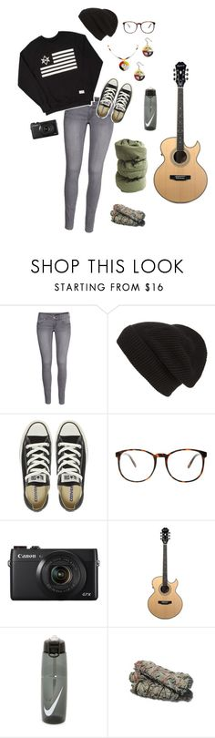 """""""Untitled #815"""" by creature-mj ❤ liked on Polyvore featuring H&M, Phase 3, Converse, ASOS and NIKE"""