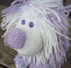 Fluppy dog, how I loved you! Vintage Fluppy Dog 1980's Toy Stuffed Animal by AngelKissJewelry, $8.00