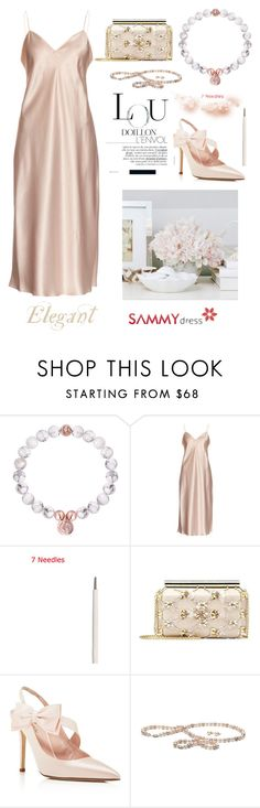 """""""Elegant Lady~"""" by amy0527 ❤ liked on Polyvore featuring Yves Saint Laurent, Oscar de la Renta and Kate Spade"""