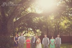 Birds of a Feather Events Photos, Wedding Planning Pictures, Texas - Dallas, Ft. Worth, oak tree manor, wedding party
