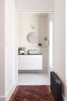 Bathroom | Lorimer Street Townhouse by Elizabeth Roberts | est living