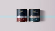 Thnadech Kummontol - Dulux Heritage (Concept) PACKAGING DESIGN World Packaging Design Society│Home of Packaging Design│Branding│Brand Design│CPG Design│FMCG Design