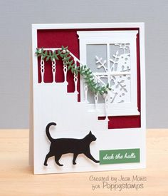 Deck the Halls by jeanmanis - Cards and Paper Crafts at Splitcoaststampers