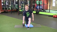 Fusion Home Fitness: Half Kneeling Lifts