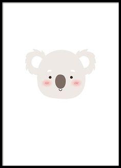 Little Koala print www.desenio.co.uk