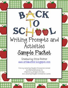 Erica's Ed-Ventures: Back to School Activities - Free Sample and Whole Body Listening Download!