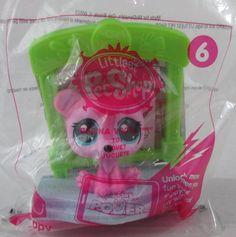 bbf3f8e7bf2 Littlest Pet Shop Regina Vogel McDonalds Happy Meal Toy 6 2015