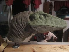 I just made an account here to get some feedback on one of my projects, which I was inspired to do after seeing Jurassic Park in Obviously one side is a. Jurassic Park Raptor, Jurassic Park Trilogy, Jurassic Park World, Make A Dinosaur, Dinosaur Head, Dinosaur Costume, Dinosaurs Alive, 3d Model Character, Cosplay Armor