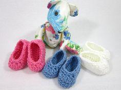 Crochet Baby Booties Baby Shower Gift by crochetedbycharlene