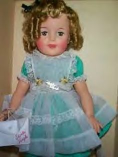 Shirley Temple doll - still have this!