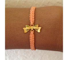 Bow Friendship Bracelet Armcandy by cutejewelry1 on Etsy, $4.50