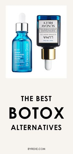 I love my Botox but I love skin care too! // The best alternatives to Botox #skinspiration