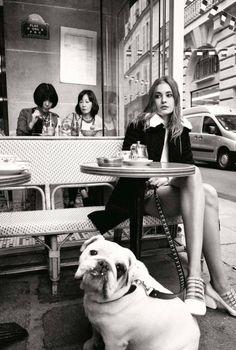 Фотосессия в Elle France (Интернет-журнал ETODAY)