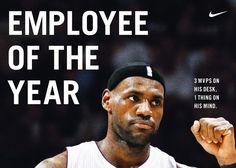 NIKE, Inc. - Nike Celebrates LeBron James and his third MVP Honor