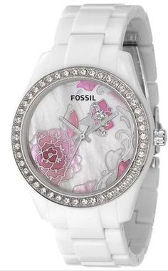 GORGEOUS! Love the crystals on the flower on face of watch