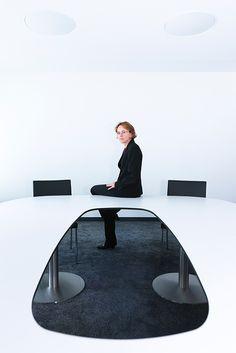Corporate Portraits by Pablo Wünsch Blanco, via Behance