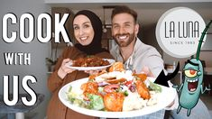 Sharing our restaurant's secret RECIPES! | Fatoush salad with chicken & tomato cauliflower! - YouTube