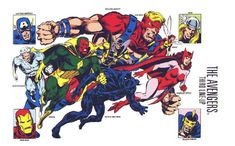 The Late 60's Avengers was such a great time for the title with Roy Thomas,Gene Colan,Sal Buscema,and John Buscema working on the title. This team would continue into the early 70's too.