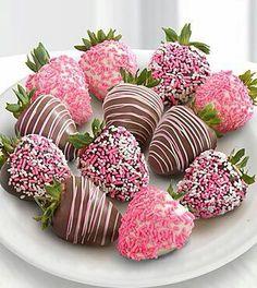 ~ Strawberries  in  coat ~