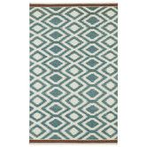 Found it at AllModern - Nomad Turquoise Geometric Area Rug