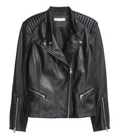 Biker Jacket | Black | Ladies | H&M US