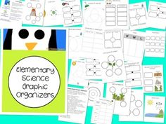 Elementary Science Graphic Organizers ($)