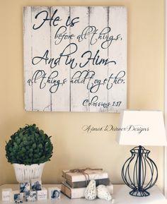 Inspirational Wooden  Wall Art
