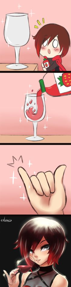 #157 - How it feels to drink from a wine glassIt's been proven that using a wine glass increases your classiness by about 200%.Inspired by Jerry Purpdrank's vine https://vine.co/v/MAYZJYTJrKQ. Bottom image separated and at a slightly higher resolution for you all because it's the time of giving.