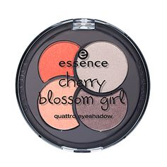 Essence - Trend Editions - Cherry Blossom - Quattro Eyeshadow - 01 Dreaming Under a Cherry Tree (AUD $5.95 from Priceline).